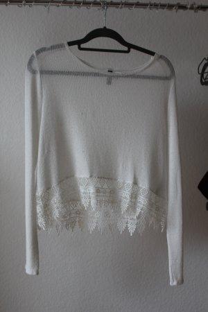 Weißer Pulli von H&M
