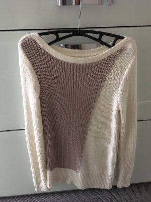 Calvin Klein Knitted Sweater white