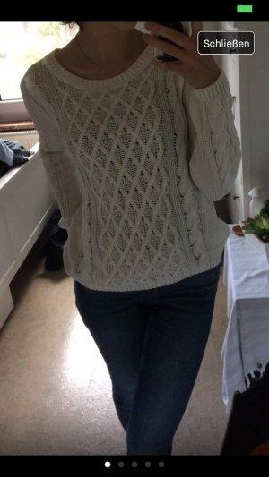 weißer Pullover, Gr. S