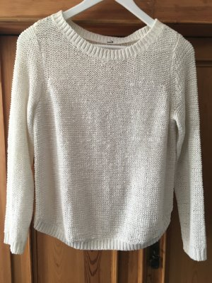 Weißer Pullover in Gr. M von H&M