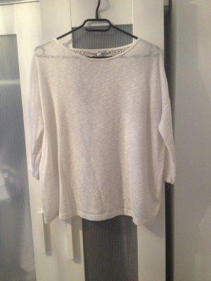 Weißer Pullover mit Spitze Tally Weijl