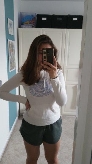 Weißer Pullover von Hollister