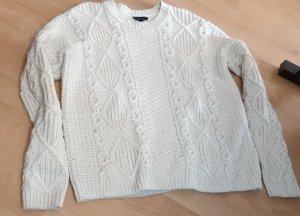 Weißer Pullover von Topshop