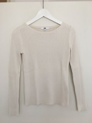 Weißer Pullover von Uniqlo