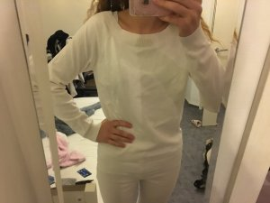 Weißer Pullover von Vila