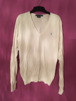 Ralph Lauren V-Neck Sweater natural white-white