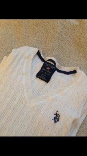 Weißer Ralph Lauren Pullover
