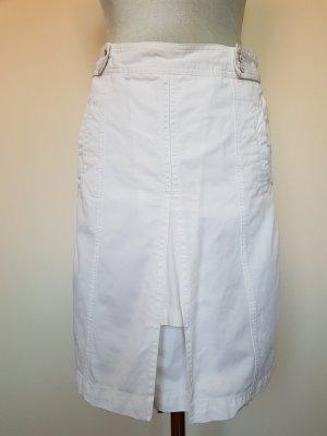 Drykorn Falda a cuadros blanco Algodón