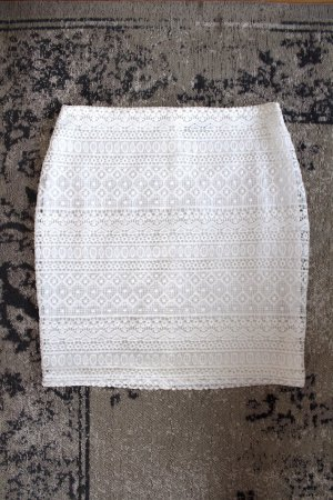 Yessica High Waist Skirt white
