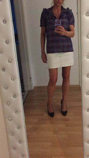 Closed Miniskirt white