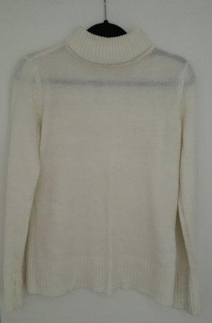 b.p.c. Bonprix Collection Turtleneck Sweater natural white polyacrylic