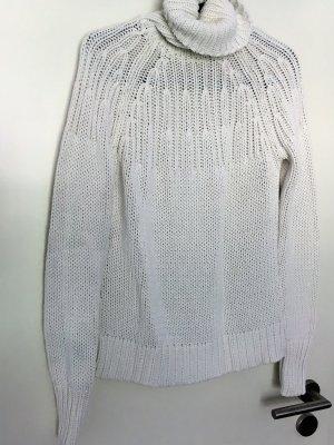 weißer Rollkragenpullover von Esprit Größe S