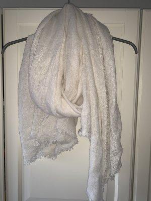 H&M Bufanda blanco puro