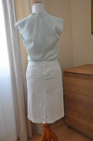 weißer Sommer Rock von Benetton 100% Baumwolle