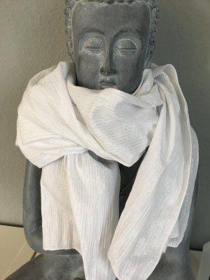 Weißer Sommerlicher Schal