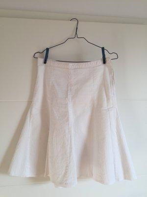 H&M Circle Skirt white