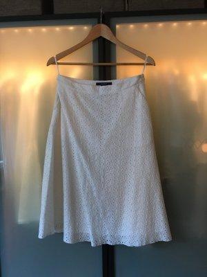 Weißer Sommerrock von Gant Gr. 36