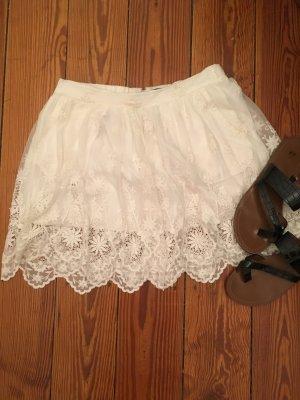 Weißer Spitzen Mini von Zara ❤️