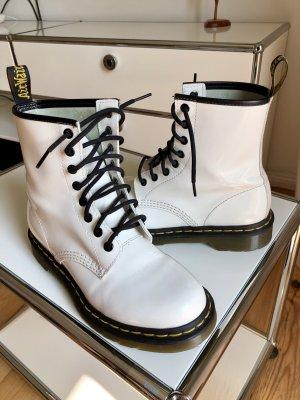 Weißer Stiefel von Dr. Martens
