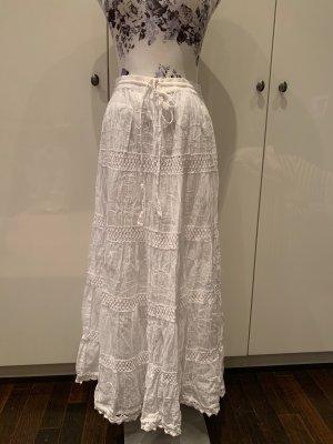 Jupe longue blanc