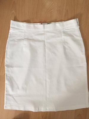Weißer Stretchrock von Takko in Größe 40