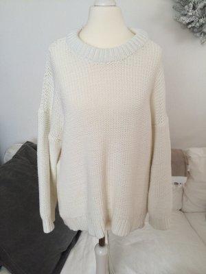 Weißer Strickpullover von H&M