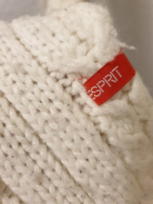 edc by Esprit Sciarpa lavorata a maglia bianco