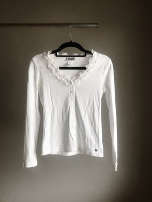Street One Short Sleeve Sweater white