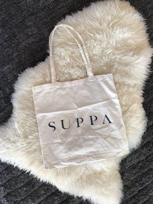 Burlap Bag black-white
