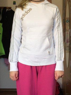 Weißer Sweater von Adidas