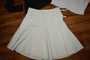 Flared Skirt white