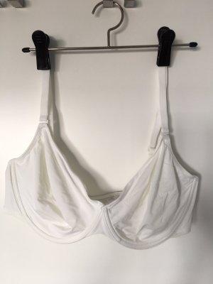 Weißer T-Shirt-BH 85 C