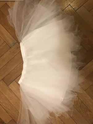 Gonna di tulle bianco