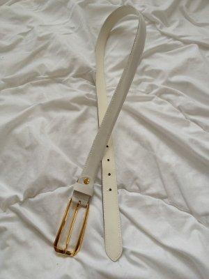 Hip Belt white-gold-colored imitation leather