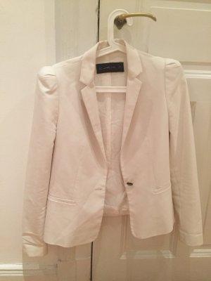 Weißer Zara Blazer in Größe M
