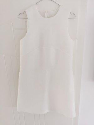 Weißes A-Linien Kleid