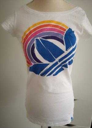 Weisses Adidas Originals T Shirt Gr.34