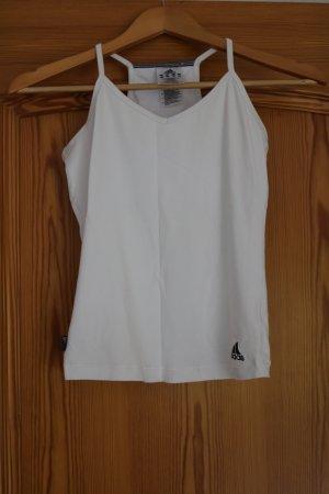 Weißes Adidas-Sportshirt