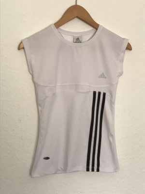 Weißes Adidas Sporttop Climalite