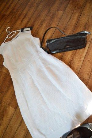 weißes ärmelloses Kleid Gr.38 Zero Neu mit Preisschild