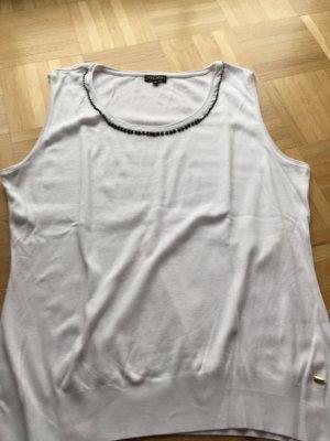 Weißes Ärmelloses tshirt von Escada