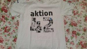 Weißes Aktion 42 T-Shirt