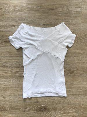 Asos Camisa acanalada blanco