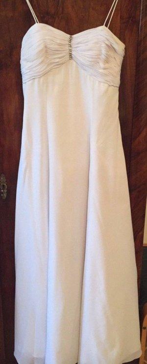Weißes Ballkleid Gr 40