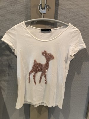 weißes Bambi T-Shirt