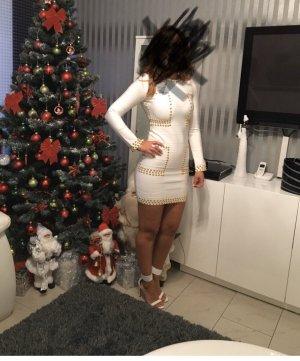 Collection Paris Mini Dress white-gold-colored