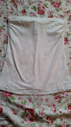 H&M Haut bandeau blanc
