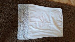 Weißes Bando-Top- Größe L
