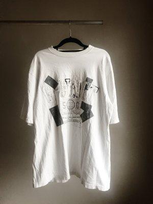 Weißes Bandshirt 50Cent