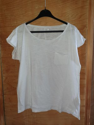 Top basic bianco